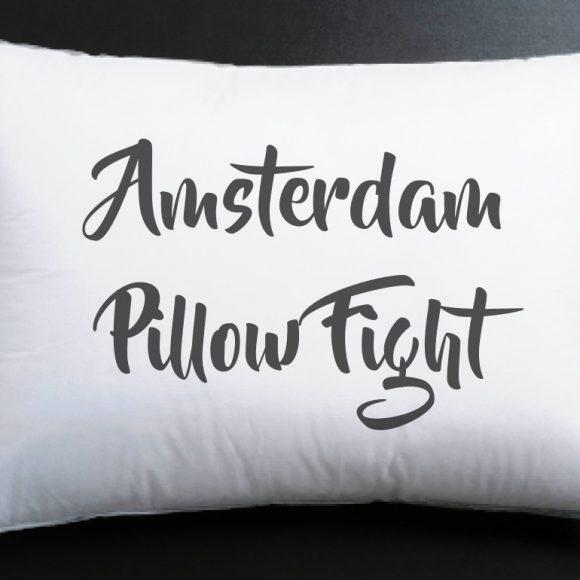 Amsterdam Pillow Fight!!!